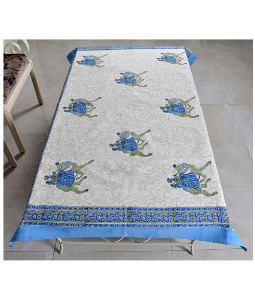 Lal Haveli 4 Seater Cotton Single Table Covers