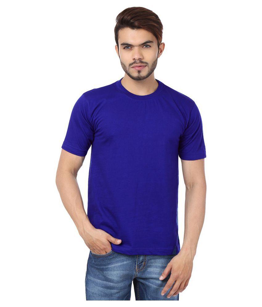 FUNKY GUYS Blue Round T-Shirt