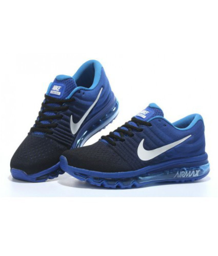 Nike Airmax 2017 Blue Running Shoes - Buy Nike Airmax 2017 Blue ... f0864d87fd44
