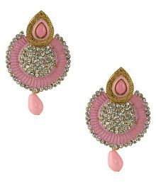 Penny Jewels Alloy Imitation Artificial Stylish Classic Earrings Set For Women & Girls