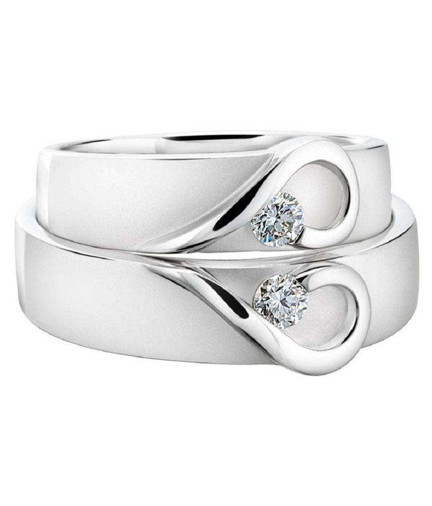 SILVERISH 92.5 Silver Rings Combo