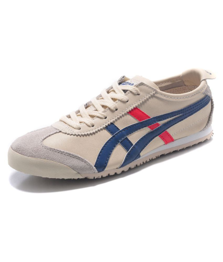 new style 11fb3 9aedf ONITSUKA TIGER ASICS Sneakers White Casual Shoes