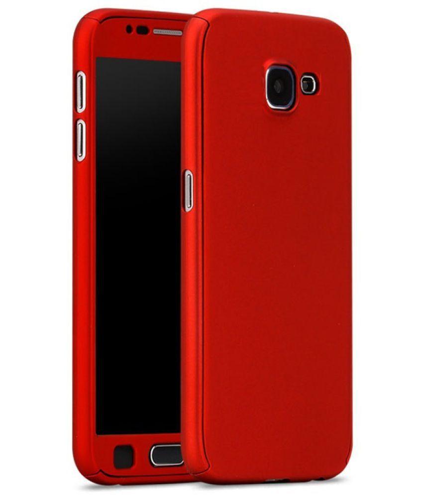 best loved 4cd21 19fe7 Samsung Galaxy J7 Prime Plain Cases Sami - Red
