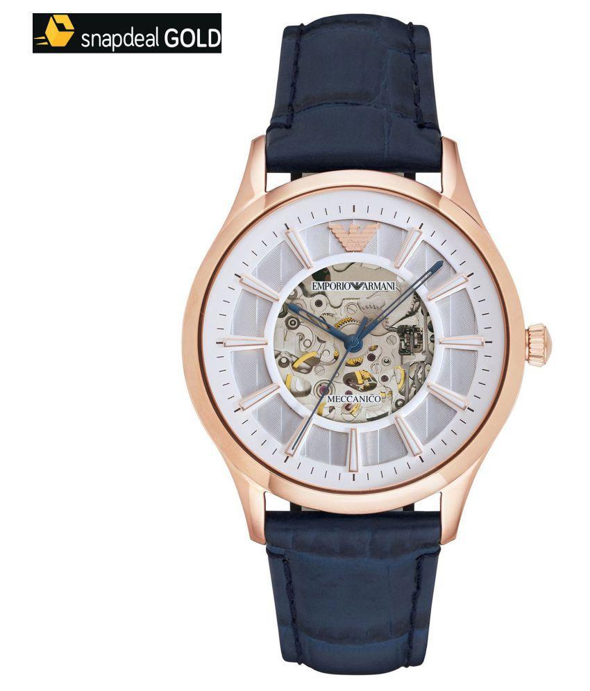 f765b494daf Emporio Armani AR1947 Mechanical Automatic Watch For Men - Buy Emporio  Armani AR1947 Mechanical Automatic Watch For Men Online at Best Prices in  India on ...