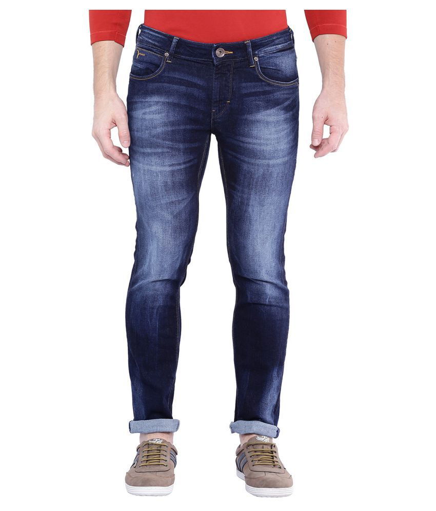 Flying Machine Blue Regular Fit Jeans