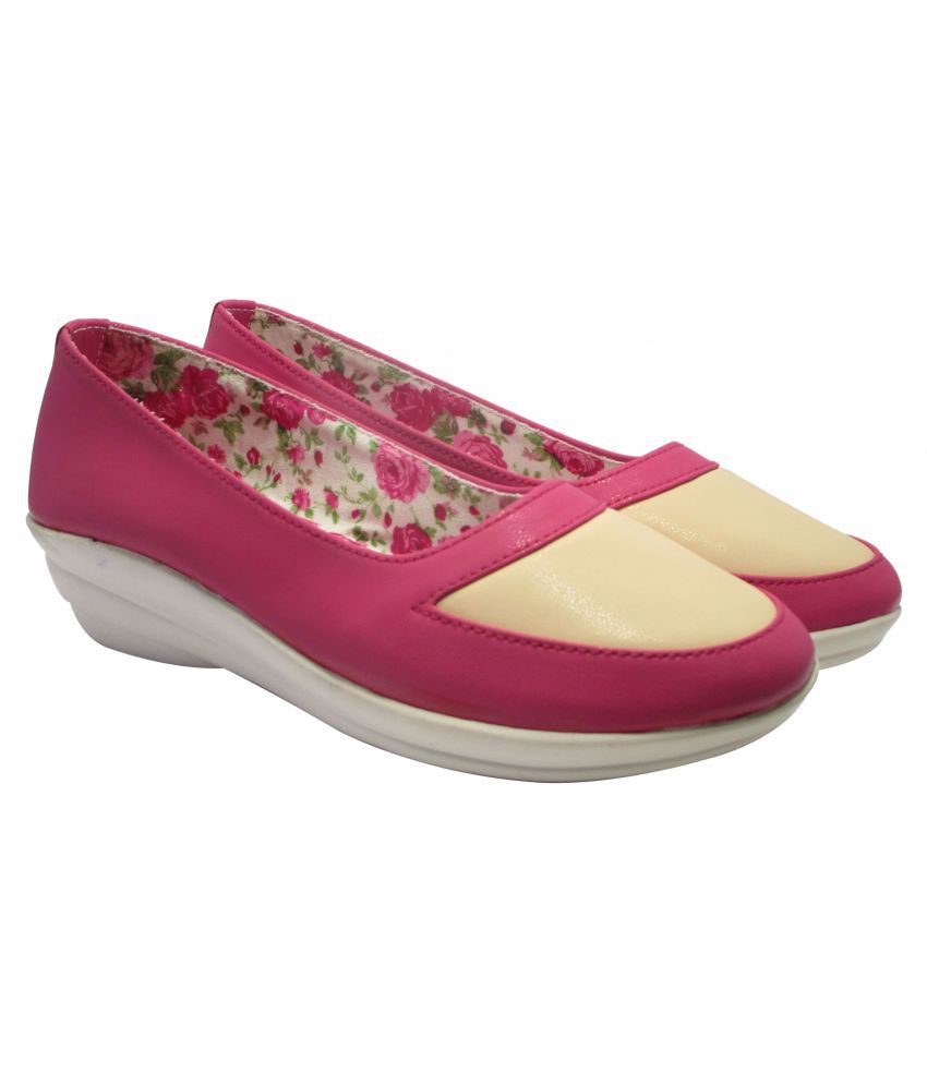 Sammy Pink Casual Shoes