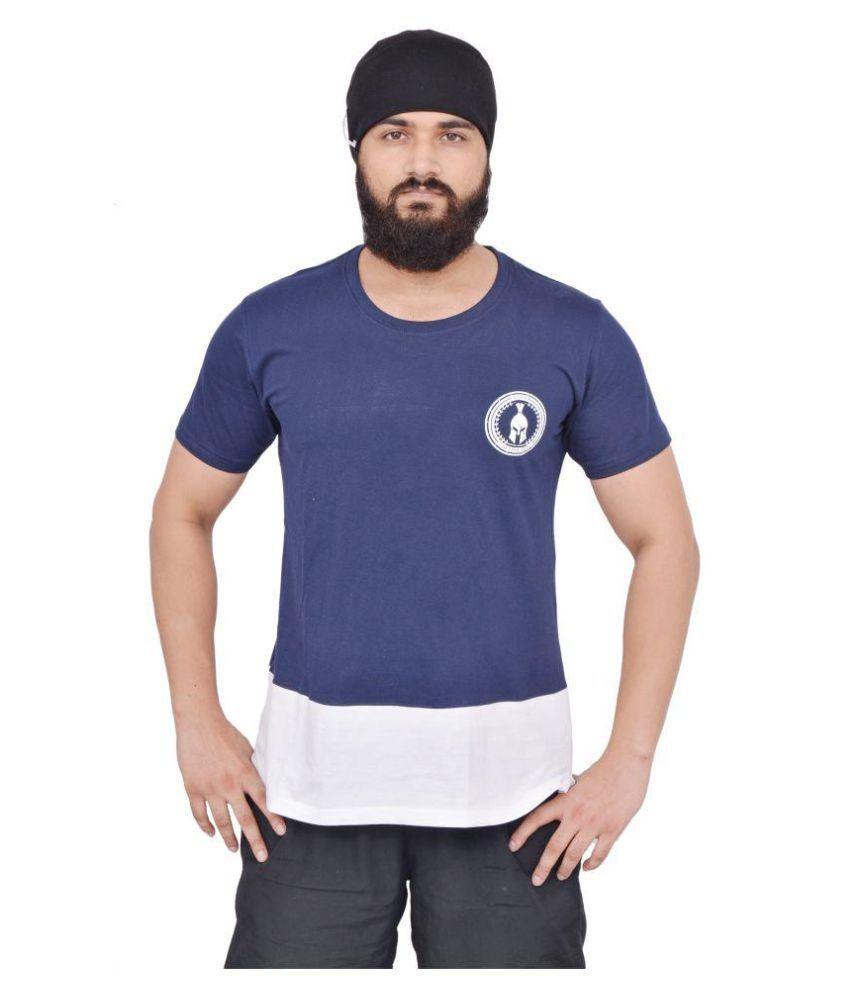 Anax Aesthetics Navy Round T-Shirt