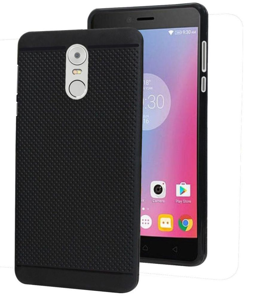 Lenovo K6 Note Plain Cases GBOS - Black