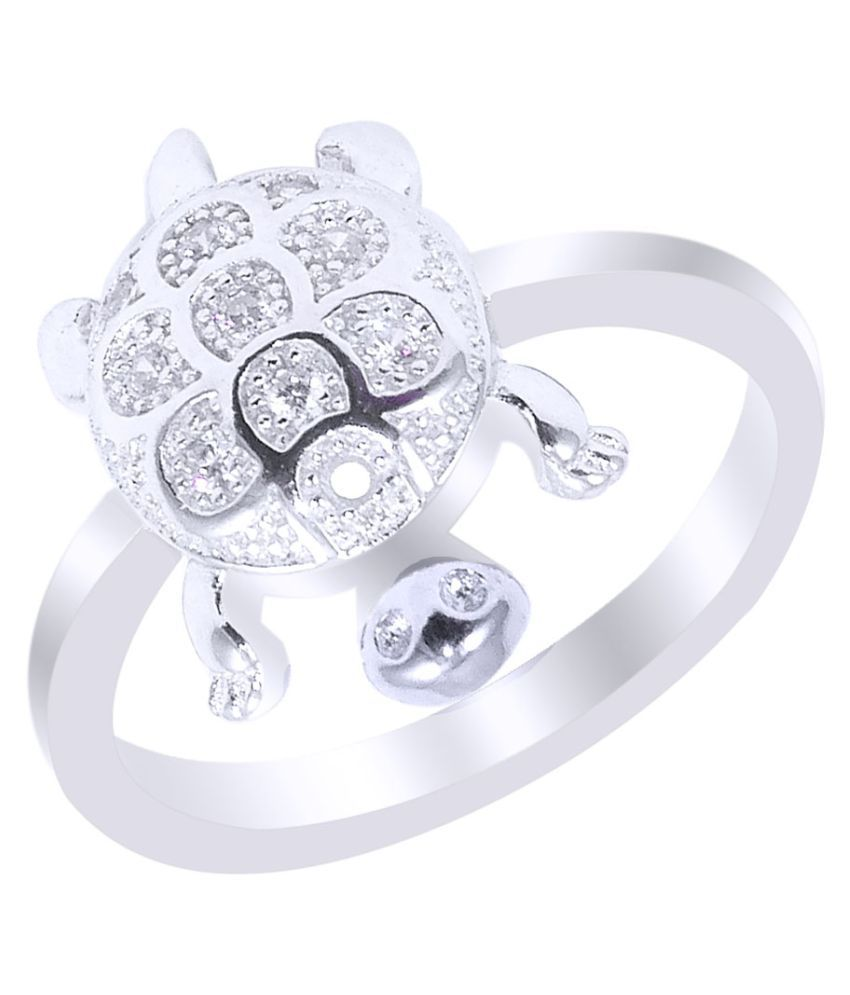 ELOTIC 92.5 Silver Cubic Zirconia Ring