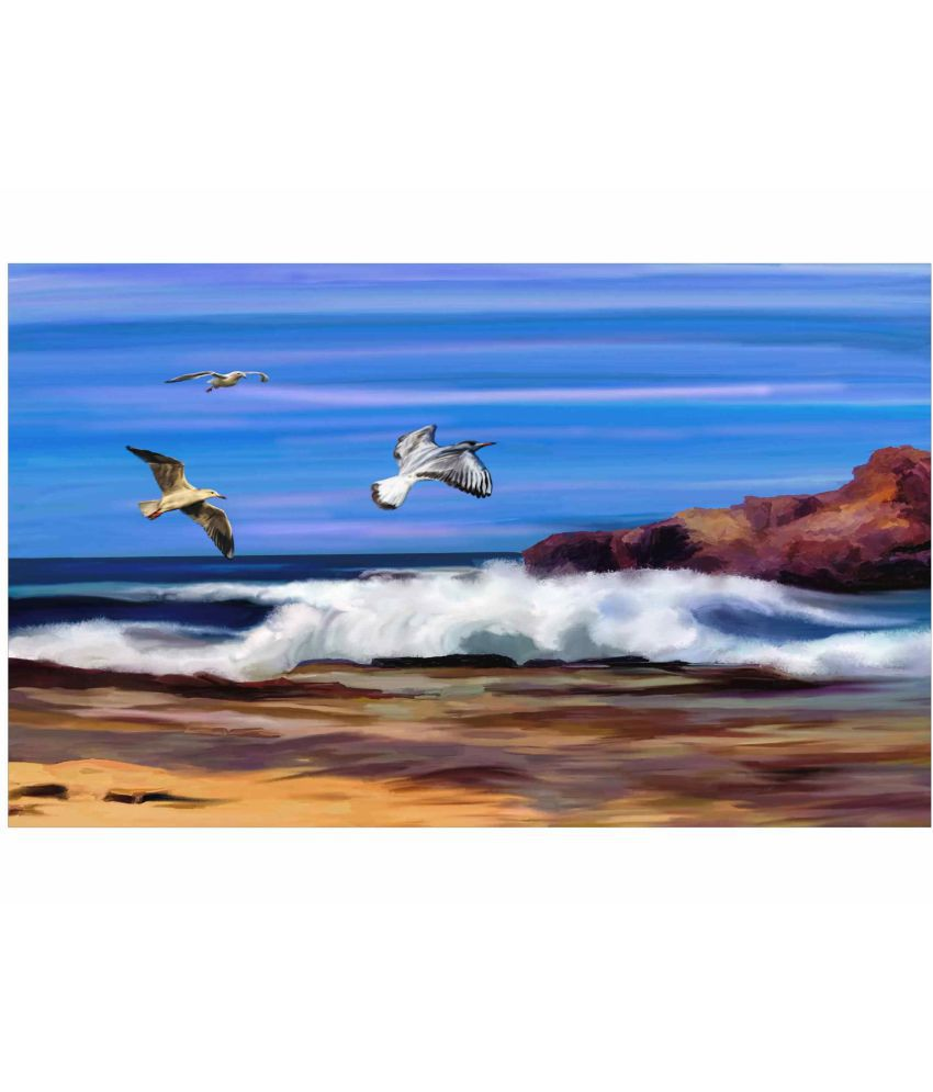 Go Hooked Canvas Painting Without Frame