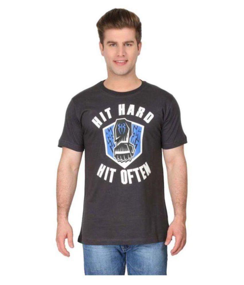 Attitude Grey Round T-Shirt