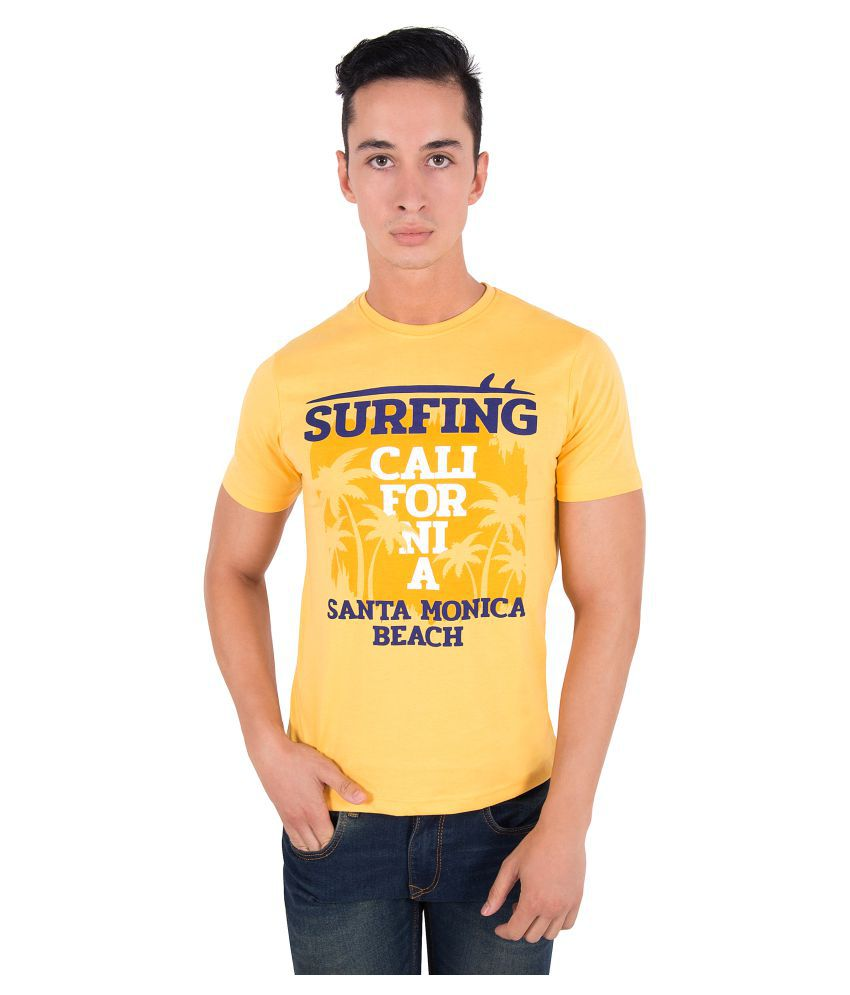 Zoravie Yellow Round T-Shirt