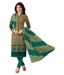 Baalar Multicoloured Cotton Dress Material