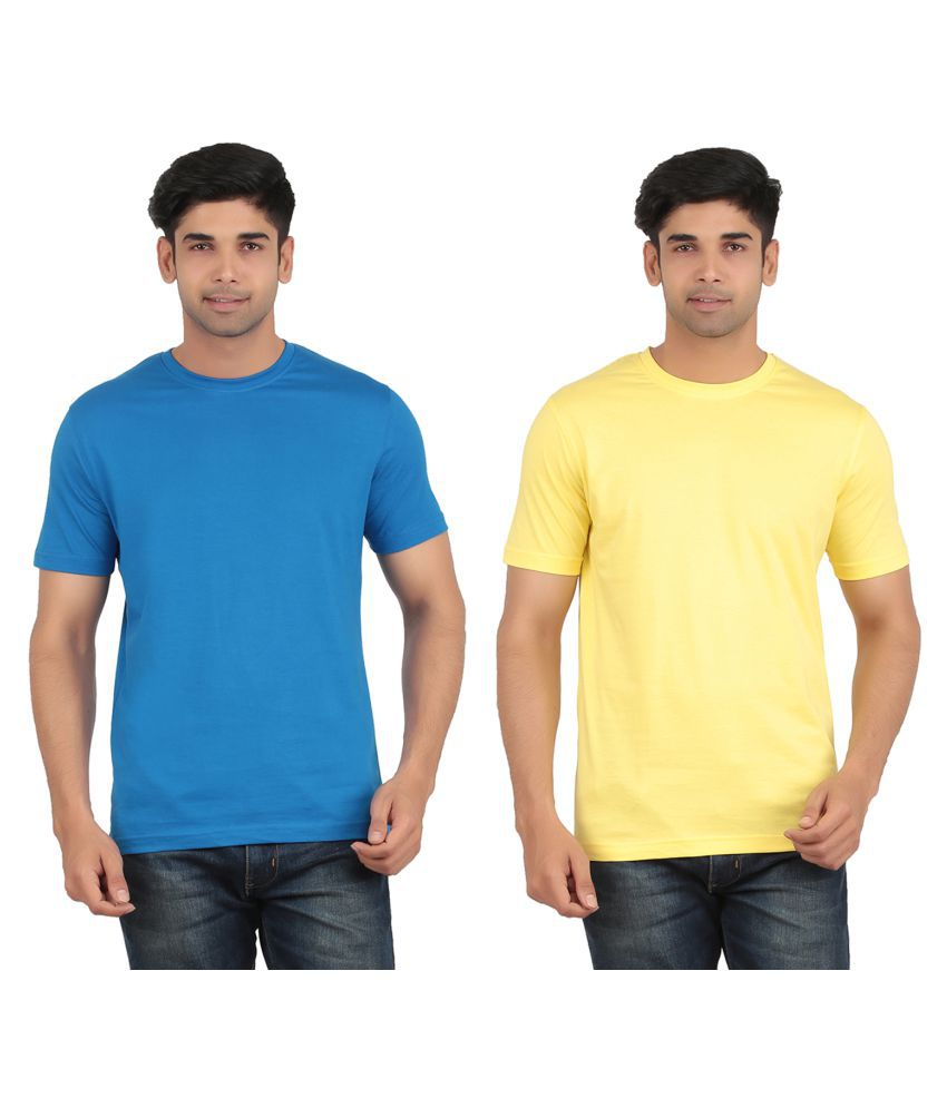 GREENWICH Multi Round T-Shirt Pack of 2