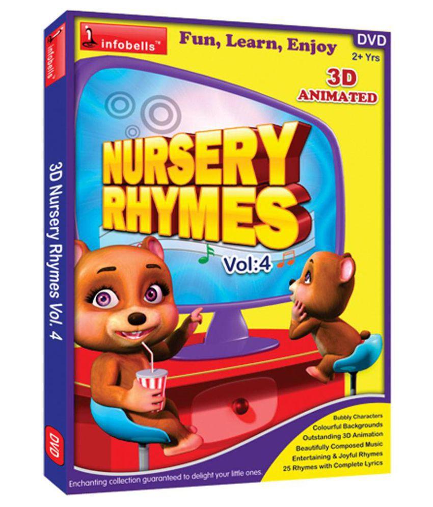 Nursery Rhymes Vol4 Dvd English