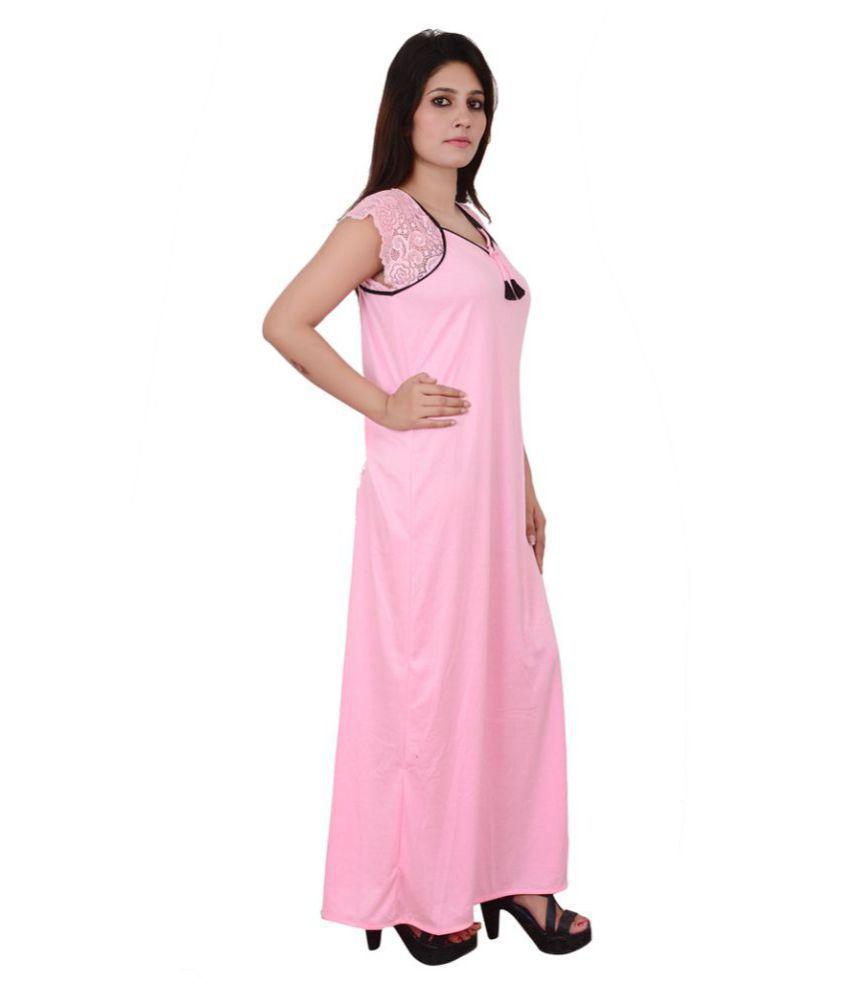 Buy Nooraalia Cotton Nighty & Night Gowns Online at Best Prices in ...