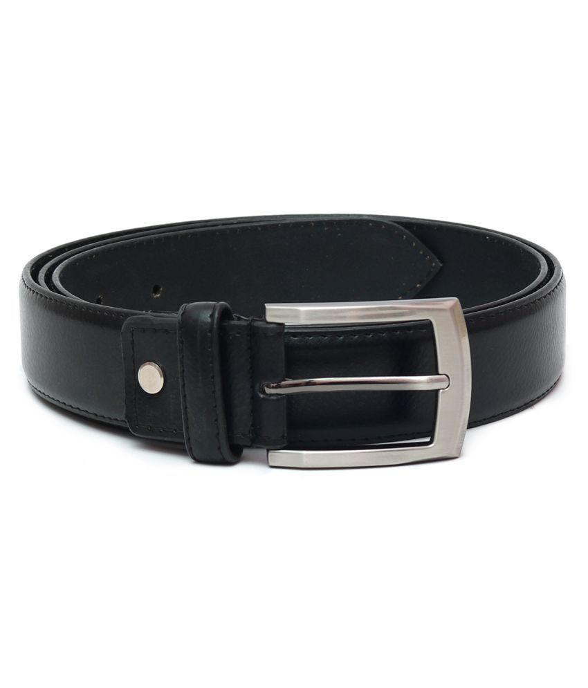 Laurent Benen Black Leather Formal Belts