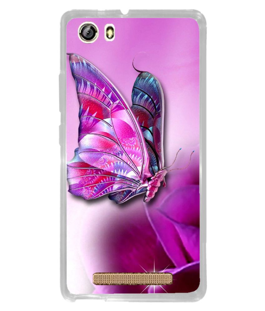 Gionee Marathon M5 Lite Printed Cover By instyler