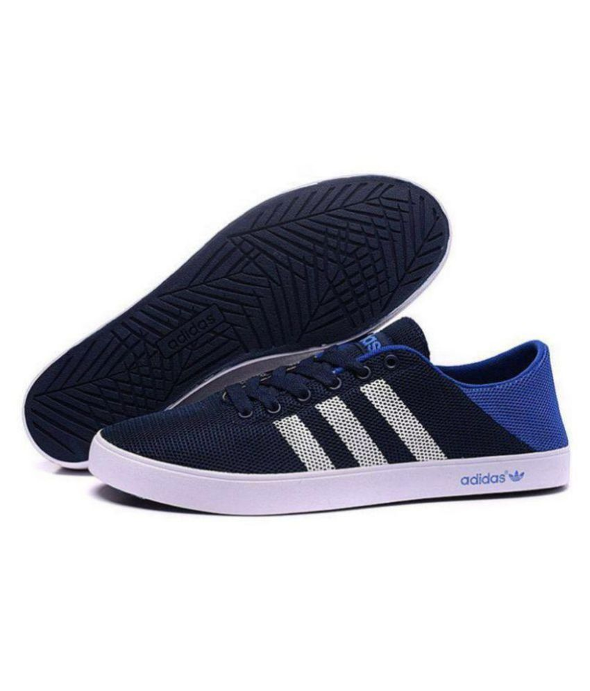 uk availability 68bcf a7008 Adidas Neo 1 Blue Casual Shoes ...