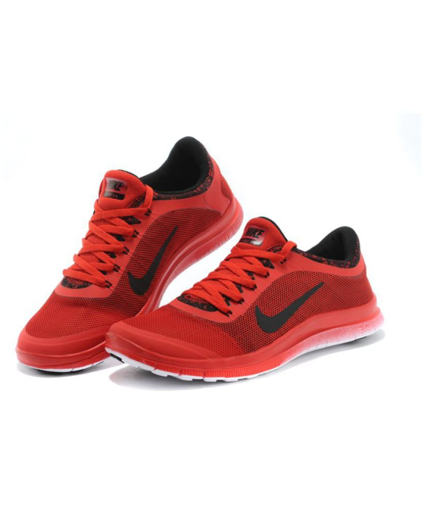 nike air free 3 0 red running shoes buy nike air free 3. Black Bedroom Furniture Sets. Home Design Ideas