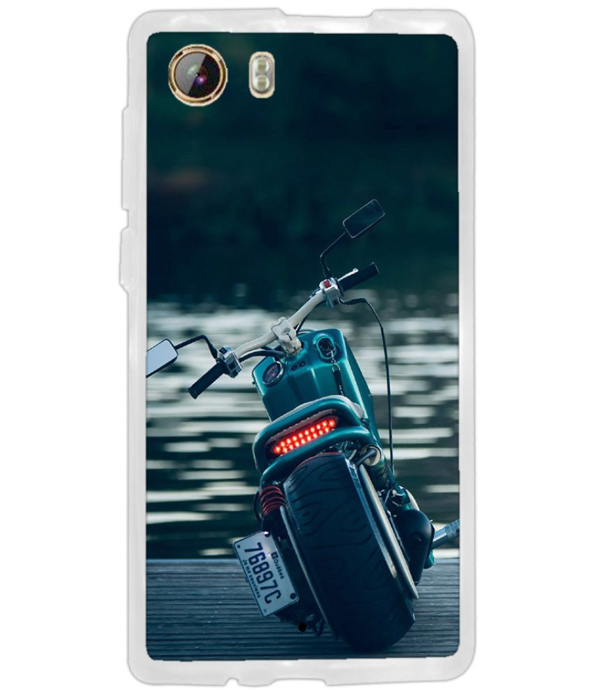 Intex Aqua Lion 3G Printed Cover By instyler