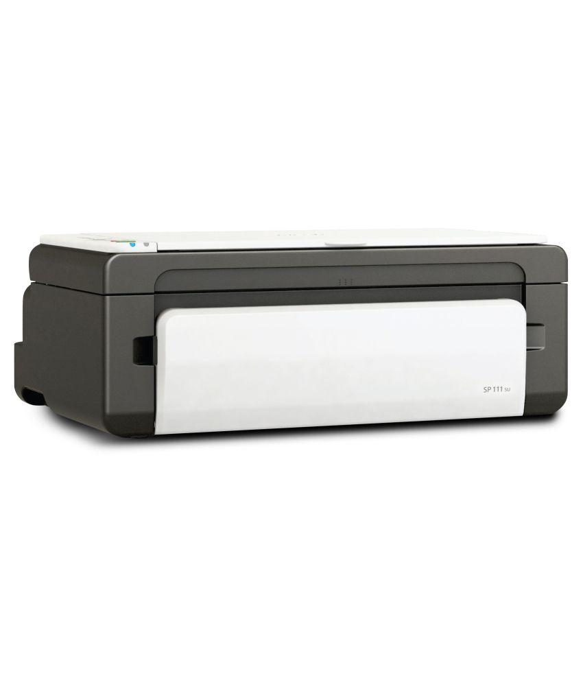 Ricoh SP 111SU Multifunction Jam Free Laser Printer (Print, Scan and Copy)
