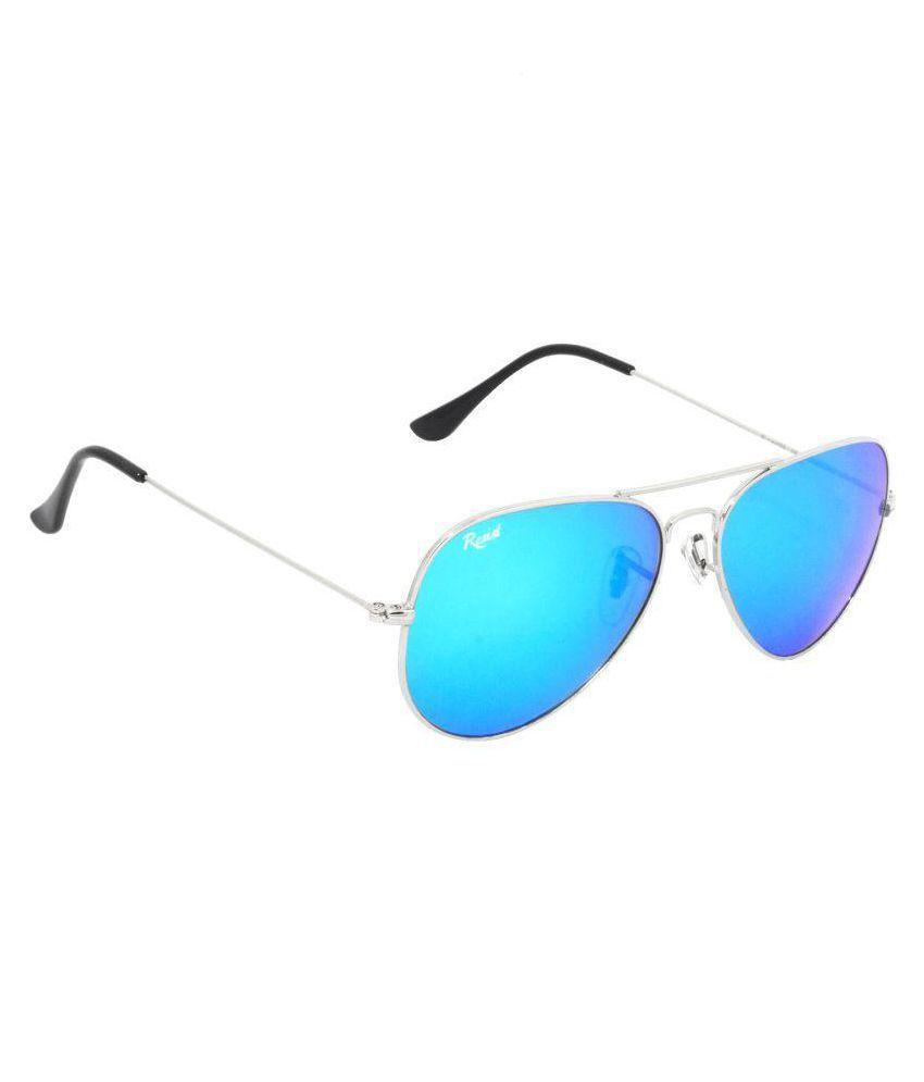 RESIST Ocean Blue Aviator Sunglasses ( RE-AV-SF-R02 )