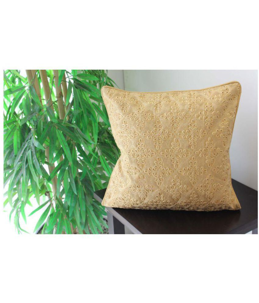 Vellum Single Poly Dupion Cushion Covers 40X40 cm (16X16)