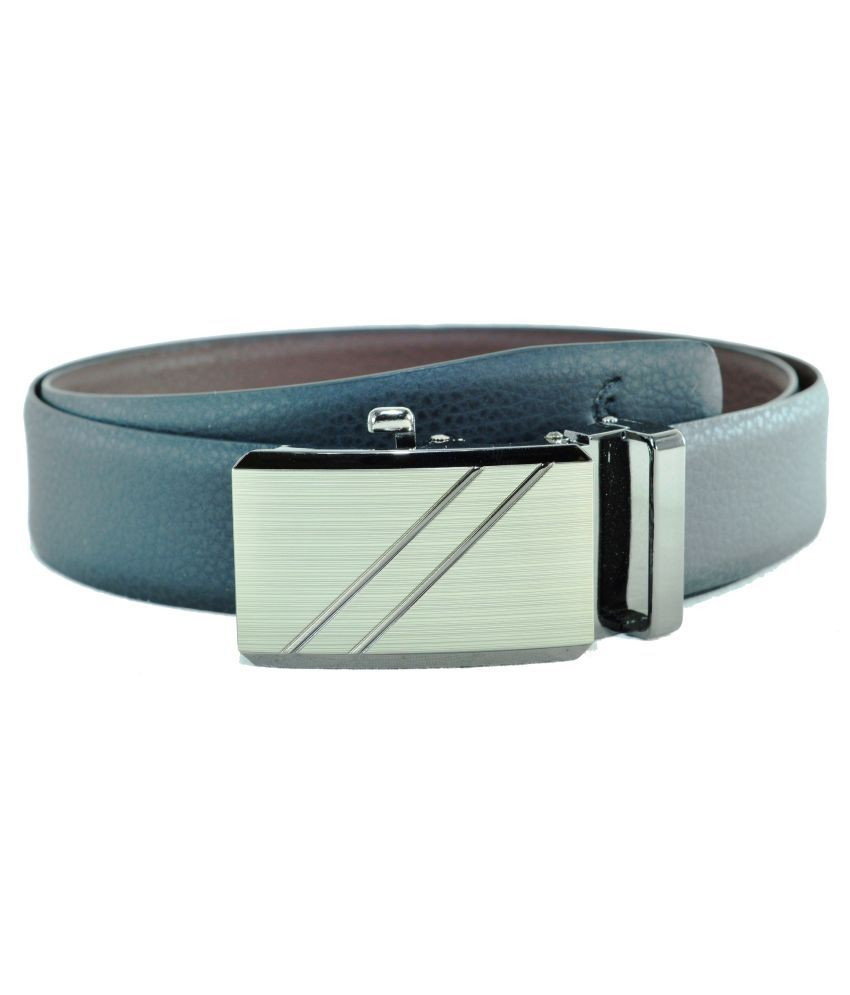 Sizzlers Black Leather Formal Belts