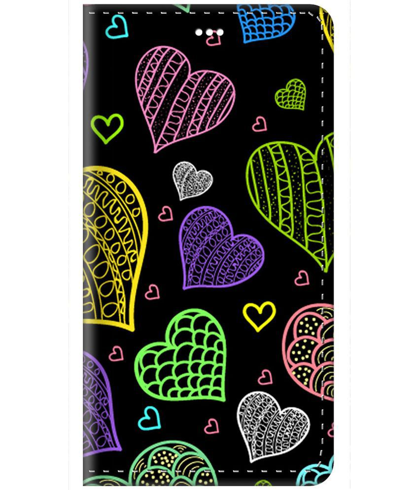 Samsung Galaxy J5 Flip Cover by ZAPCASE - Multi
