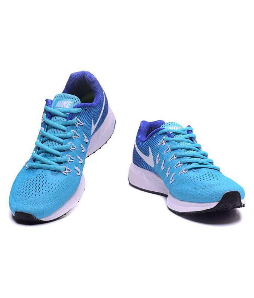 8818fa67e740c Nike Air NIKE Pegasus 33 Sky Blue Running Shoes - Buy Nike Air NIKE ...