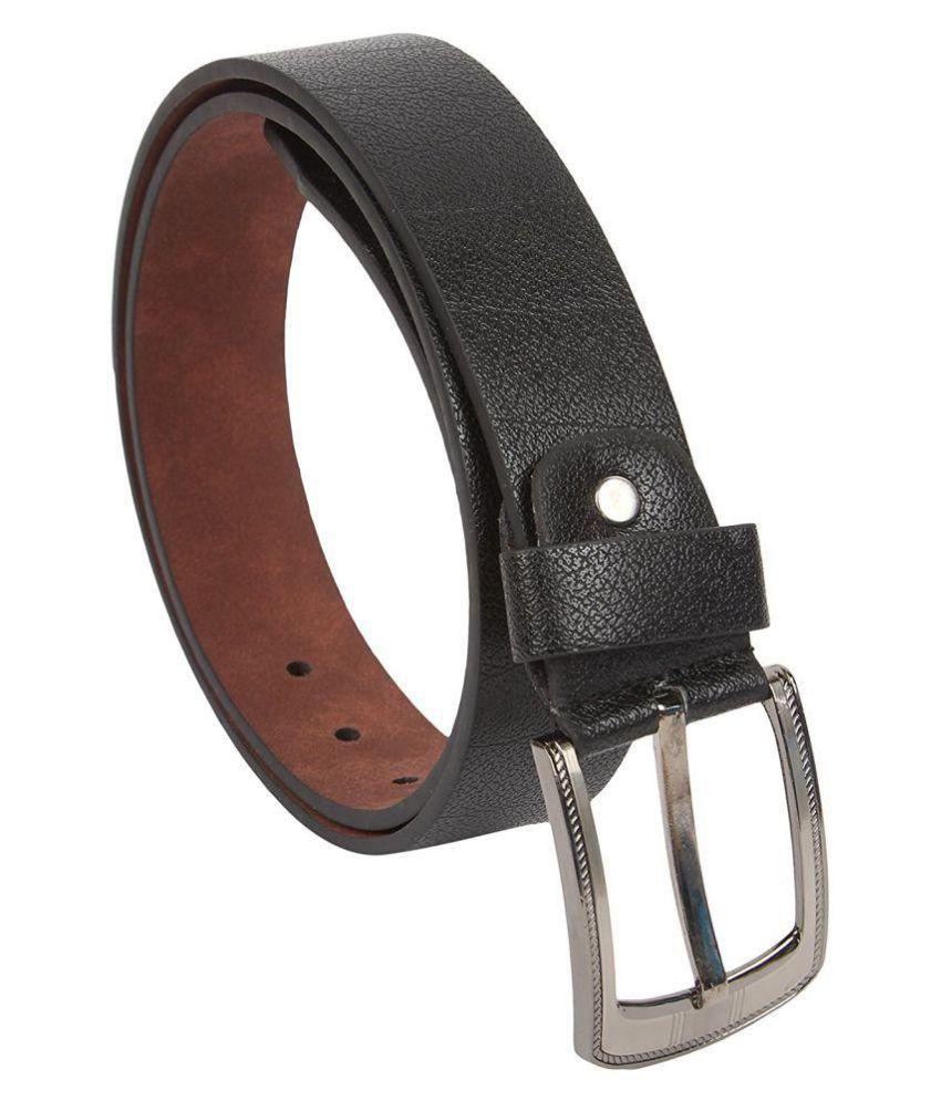 DMS Black PU Combo Belts
