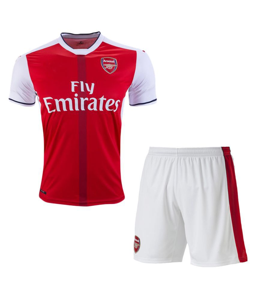 Arsenal Red Polyester Jersey