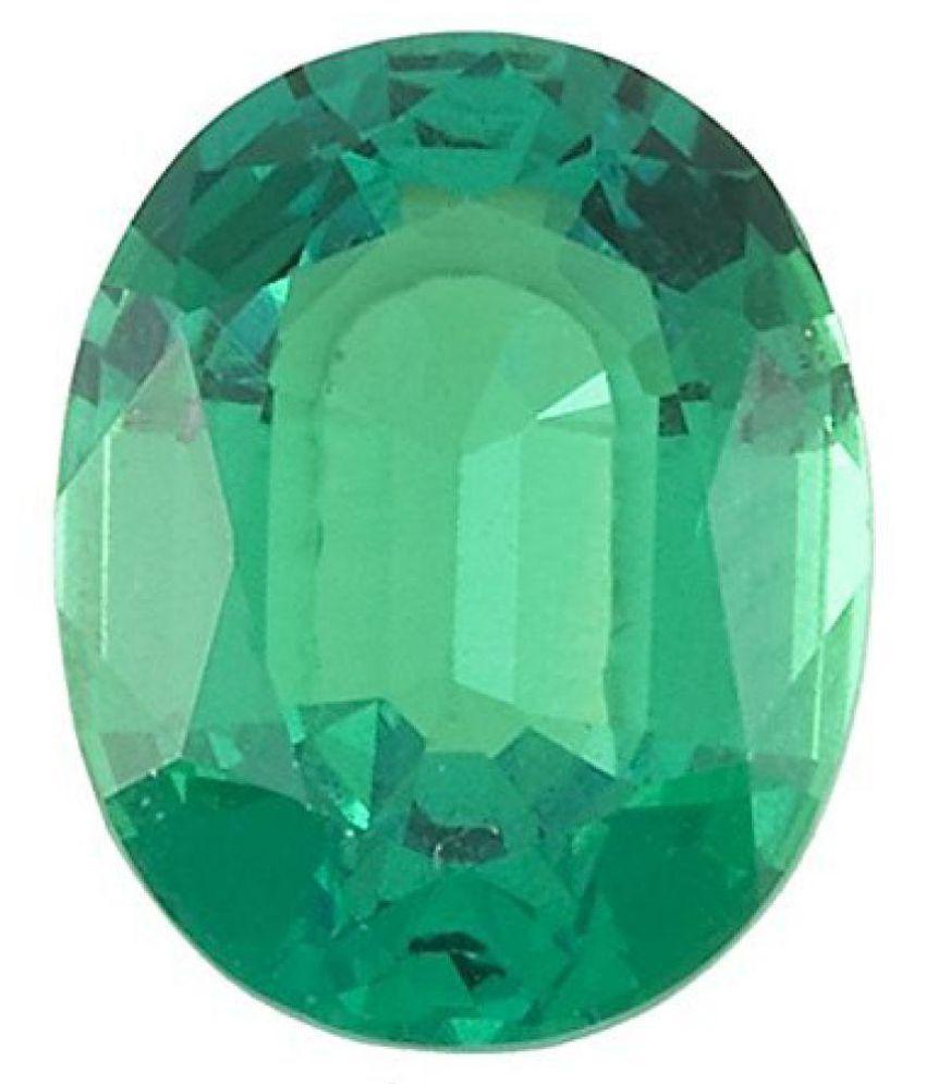 Certified 11.25 -Ratti IGL&I Green Emerald Precious Gemstone