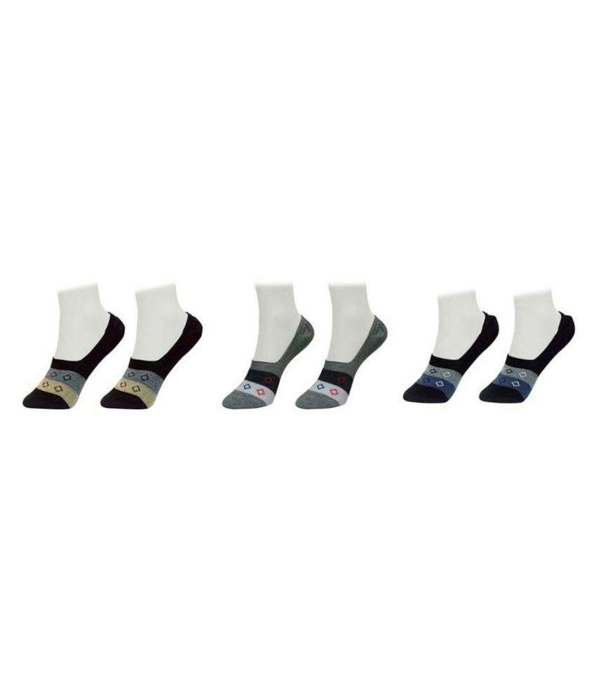 Gold Dust Latest Fancy Loafer Socks (3 Pair)