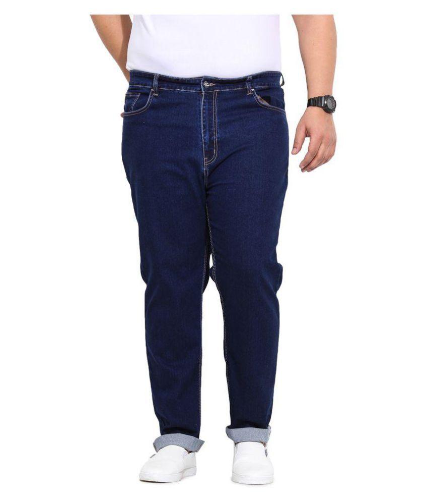 John Pride Dark Blue Slim Jeans