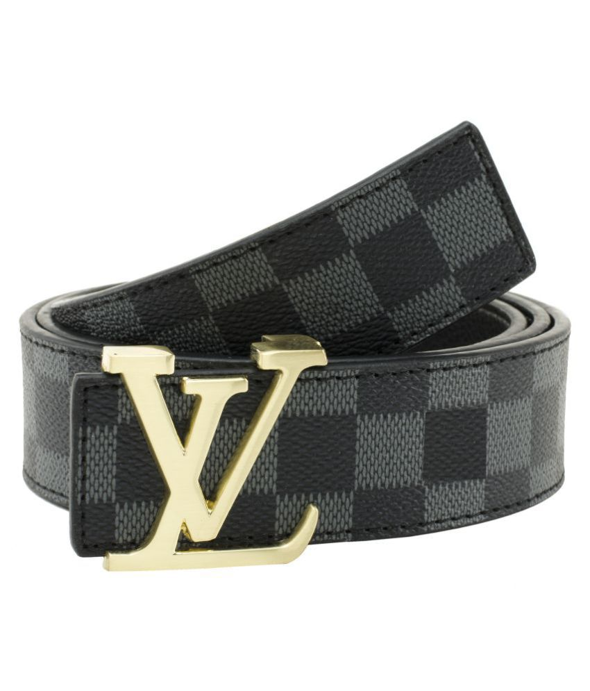 Winsome Deal Gray Faux Leather Casual Belts