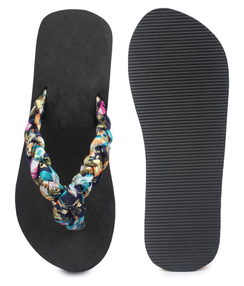 116b500db Do Bhai Blue Slippers Price in India- Buy Do Bhai Blue Slippers ...