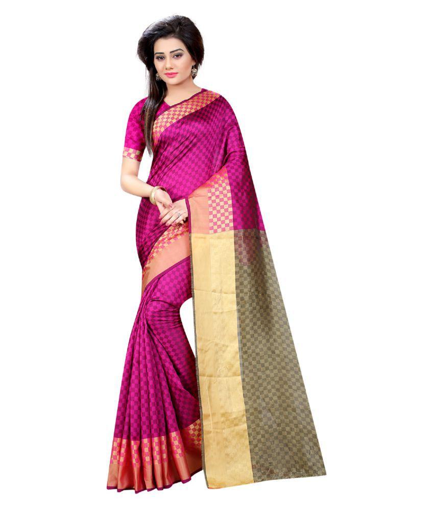 Indian Robe Pink Silk Saree