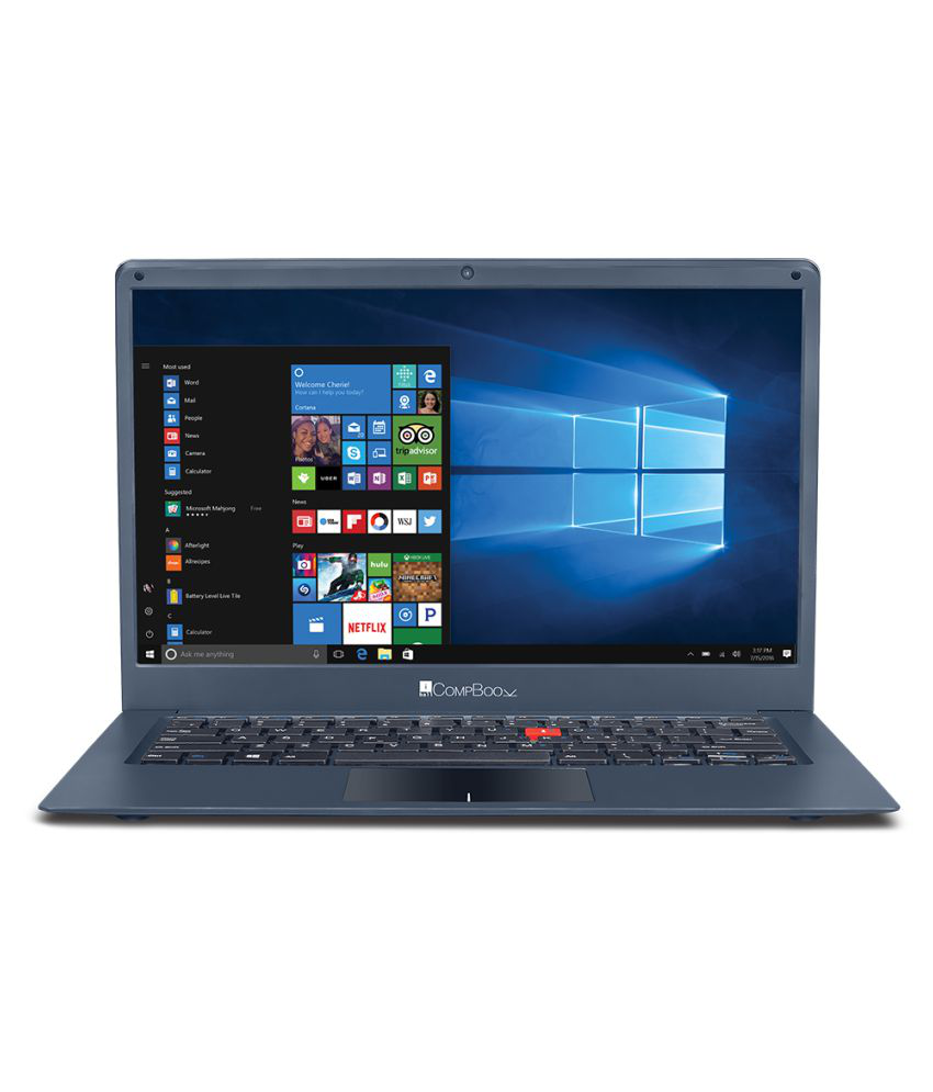 IBall CompBook Marvel 6 Celeron 32GB 3GB Windows 10 14 Inch integrated graphics