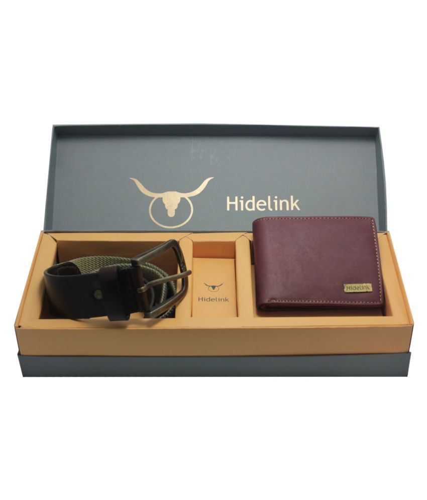 Hidelink Multi Leather Formal Belts