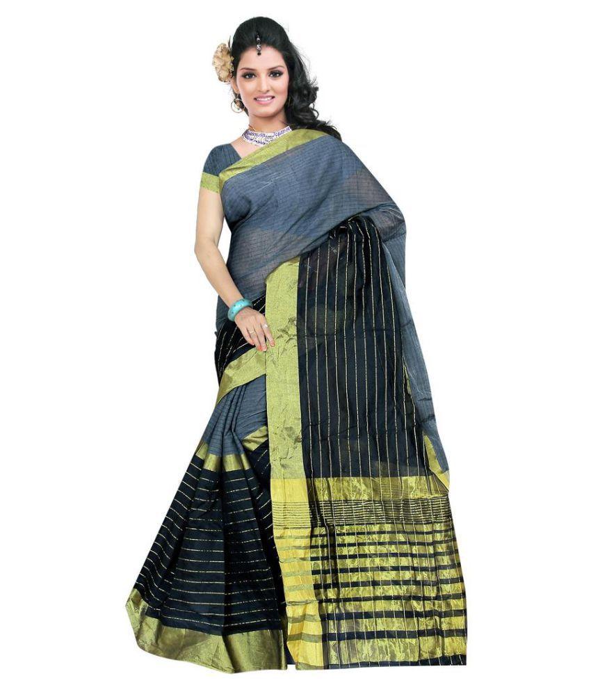 Indian Unique Fashion Multicoloured Cotton Saree