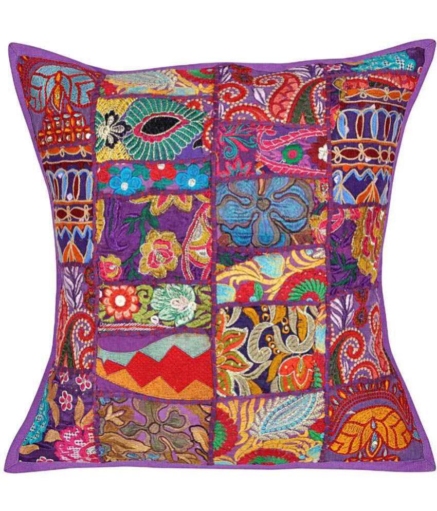 Lal Haveli Single Cotton Cushion Covers 50X50 cm (20 X 20)