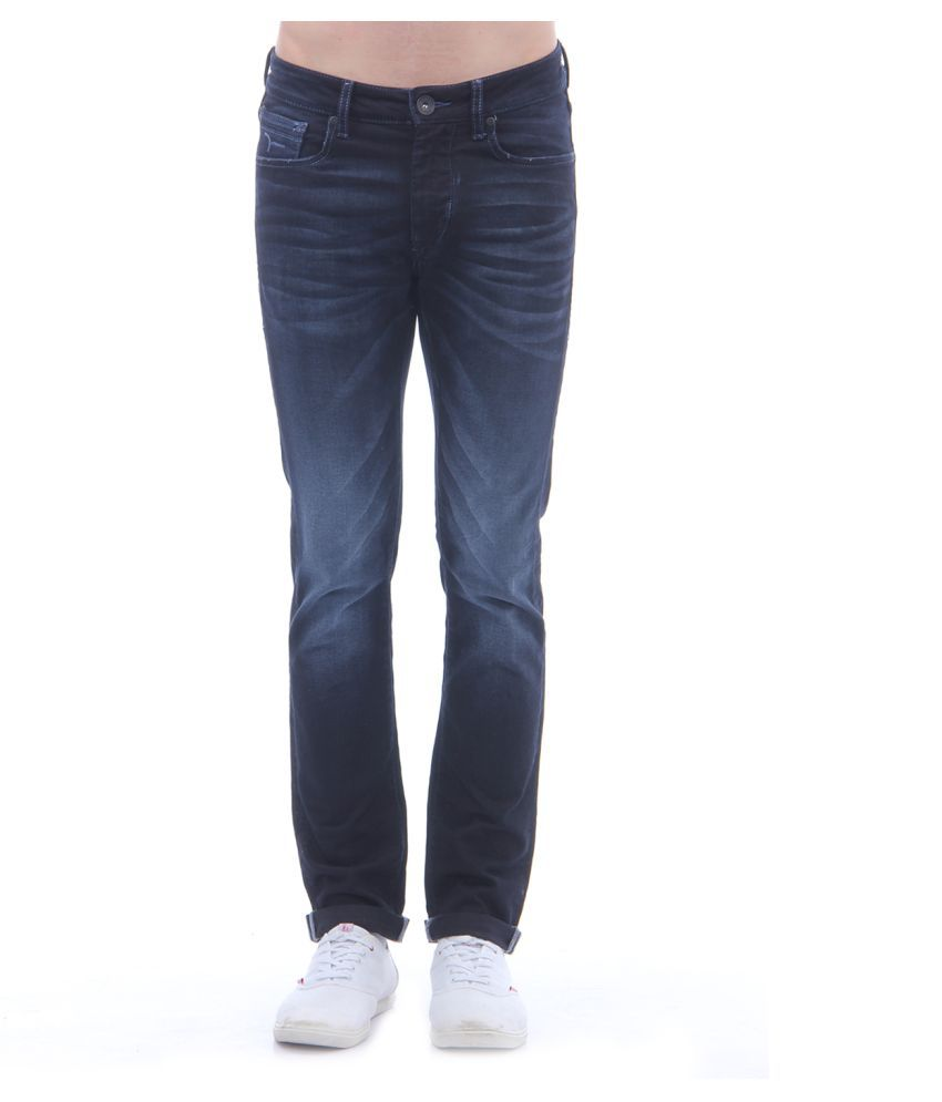 Flying Machine Blue Skinny Jeans