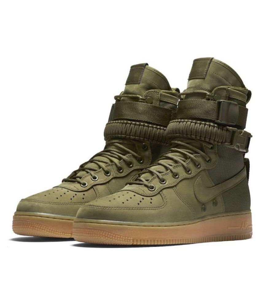 Nike Airforce sf-1 Green Casual Shoes - Buy Nike Airforce sf-1 Green Casual  Shoes Online at Best Prices in India on Snapdeal 0868c3cbc