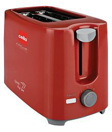 Cello POP UP 300 RED 700 Watts Pop Up Toaster