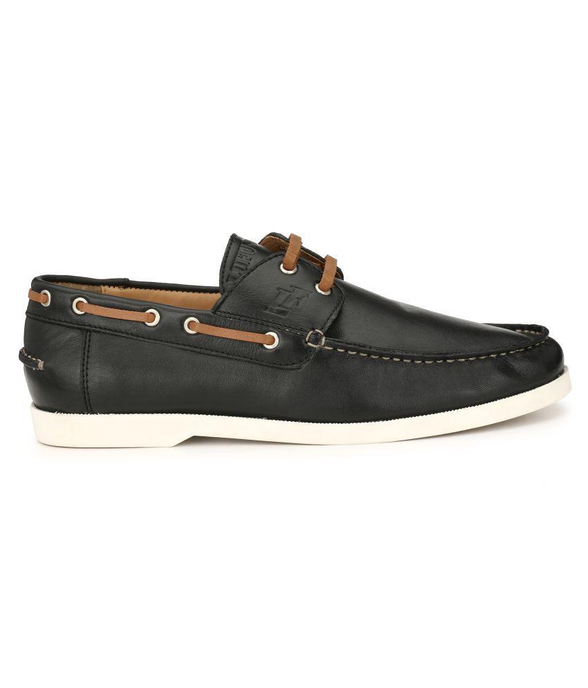 Buy LUFUNDER BOAT SHOE MENS Boat Black