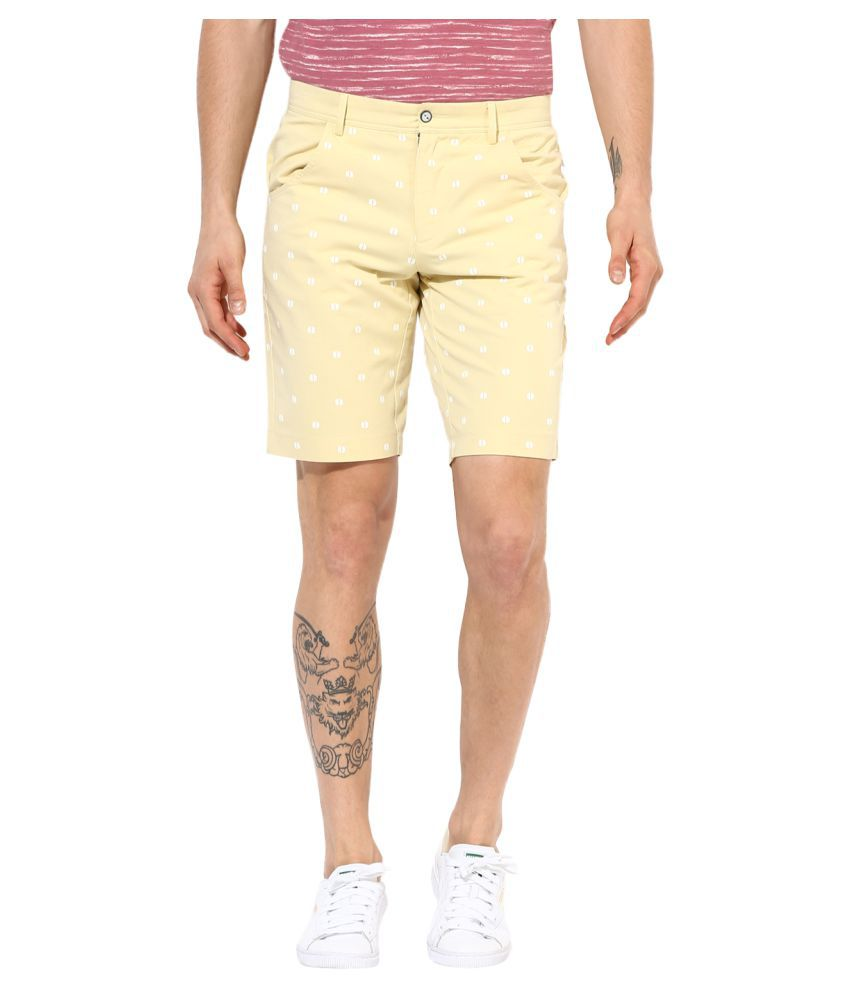 Leo Sansini Yellow Shorts