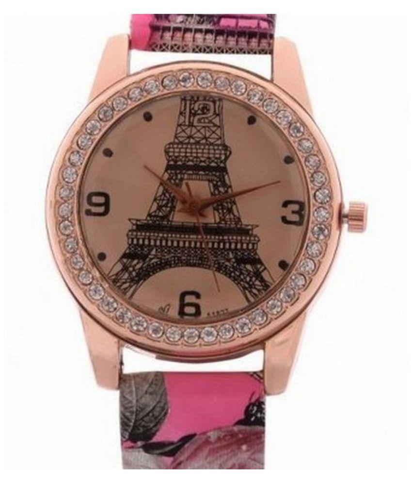 Jm Women Fancy Ledher belt Watch