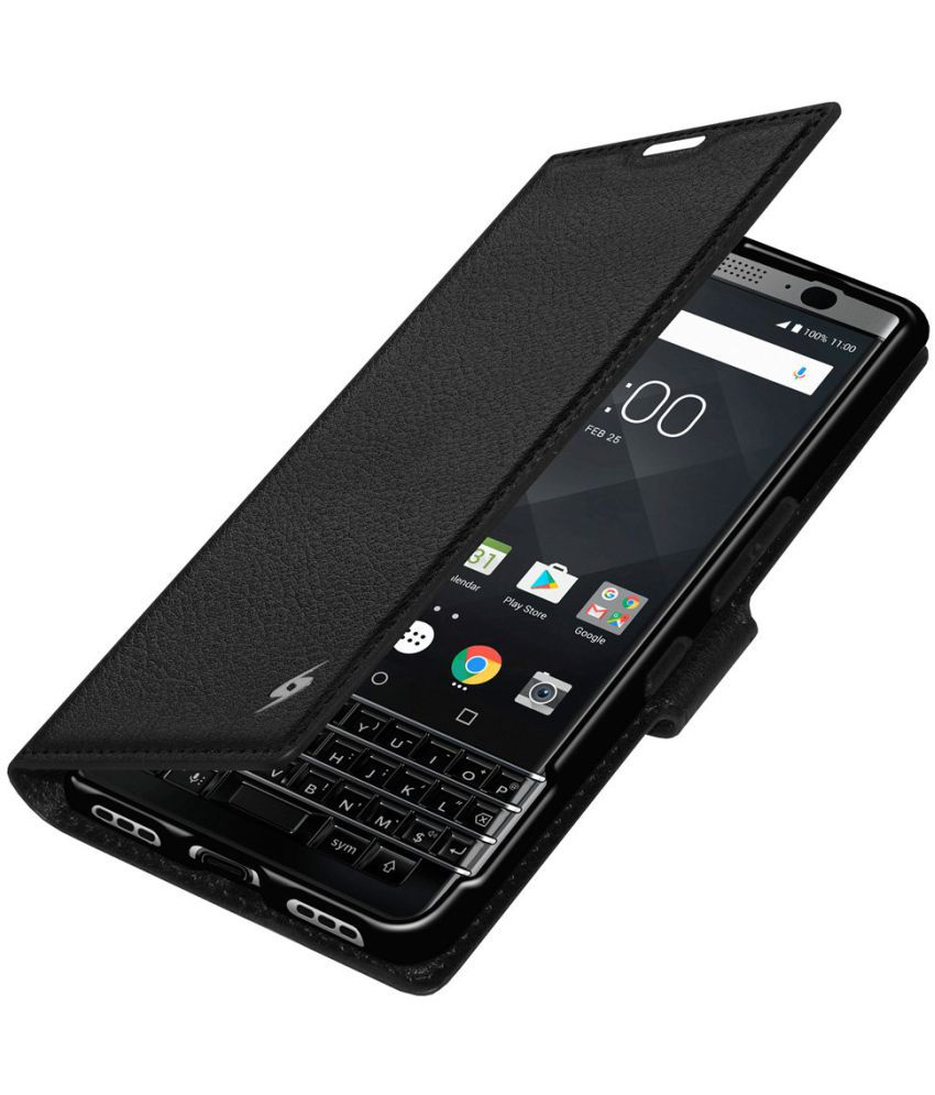 quality design 17583 13342 BLACKBERRY KEYONE Cases with Stands AMZER - Black